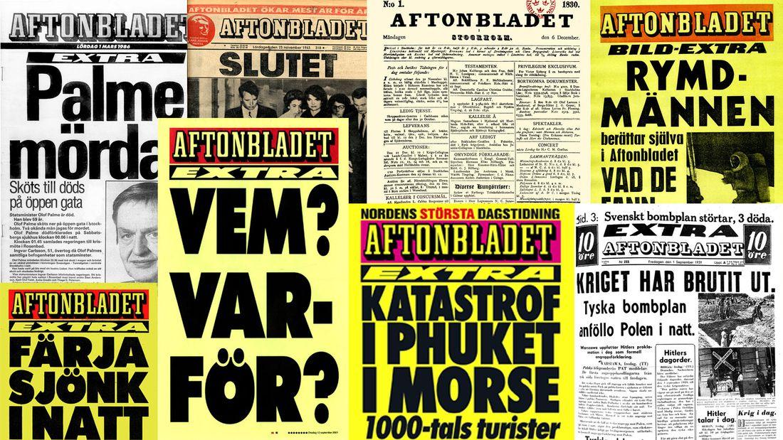 Aftonbladet newspaper tabloids