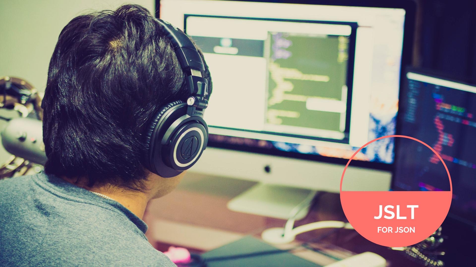 Man infront of a computer