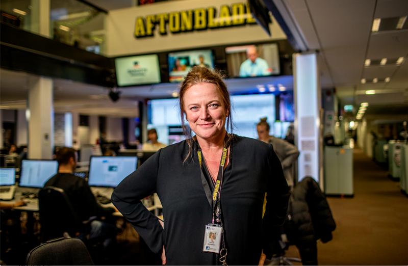 Lena K Samuelsson-Publisher Aftonbladet