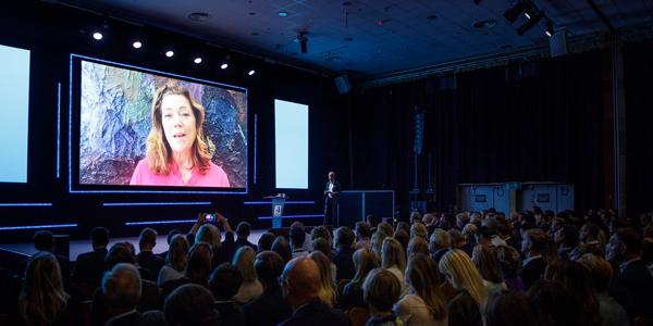 Kristin Skogen Lund when declared new CEO