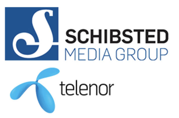 Schibsted and Telenor logos