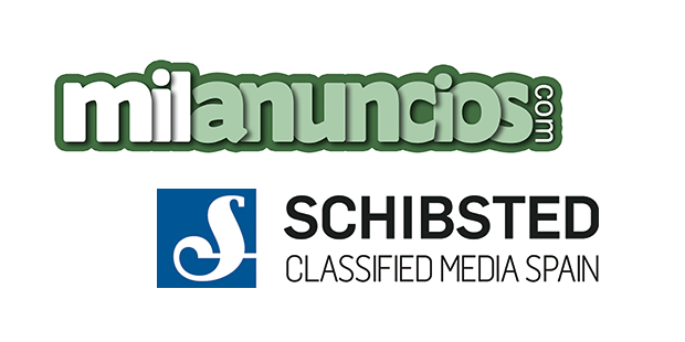 Milanuncios and Schibsted logo