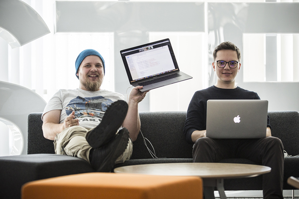 Two of the members of the iOS team are based in Krakow:  Michał Apanowicz and Marcin Mucha