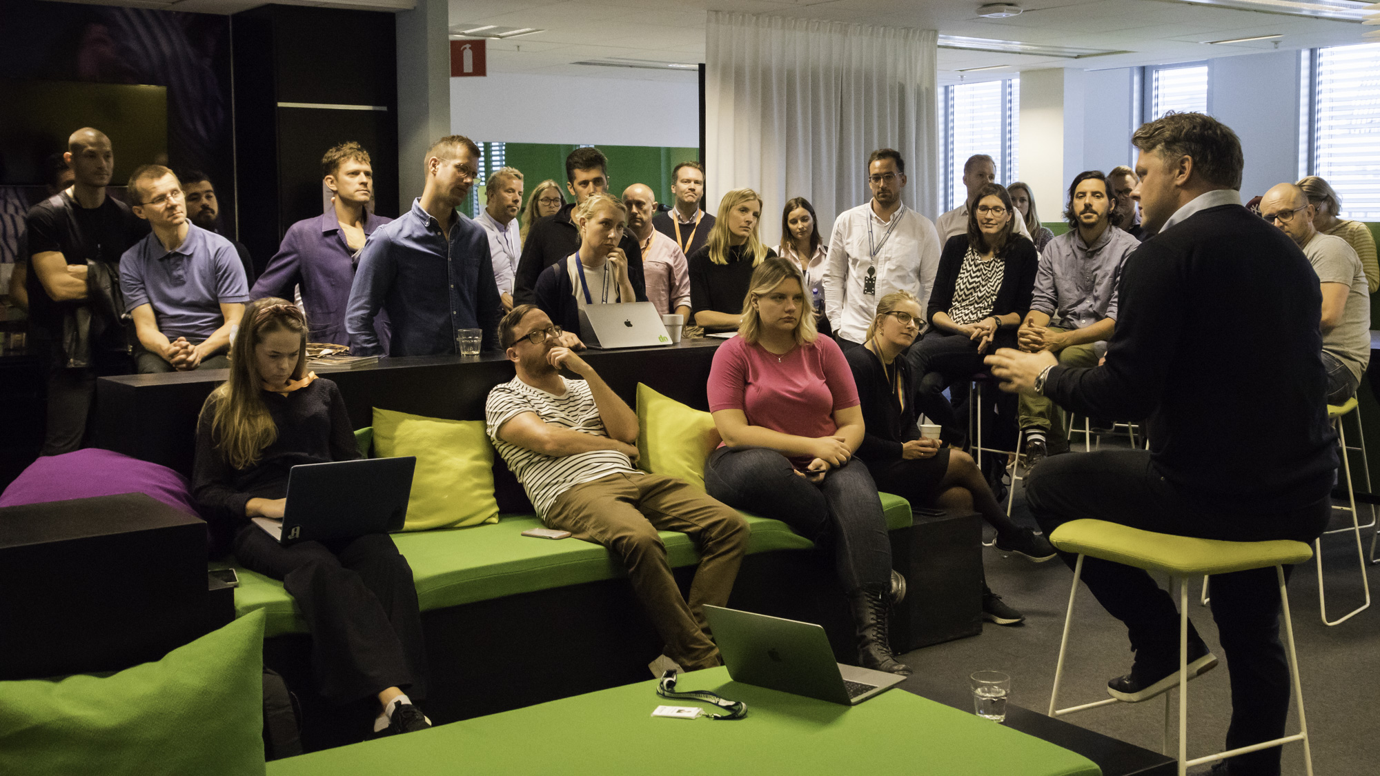 Product & tech gathering at the Stockholm office
