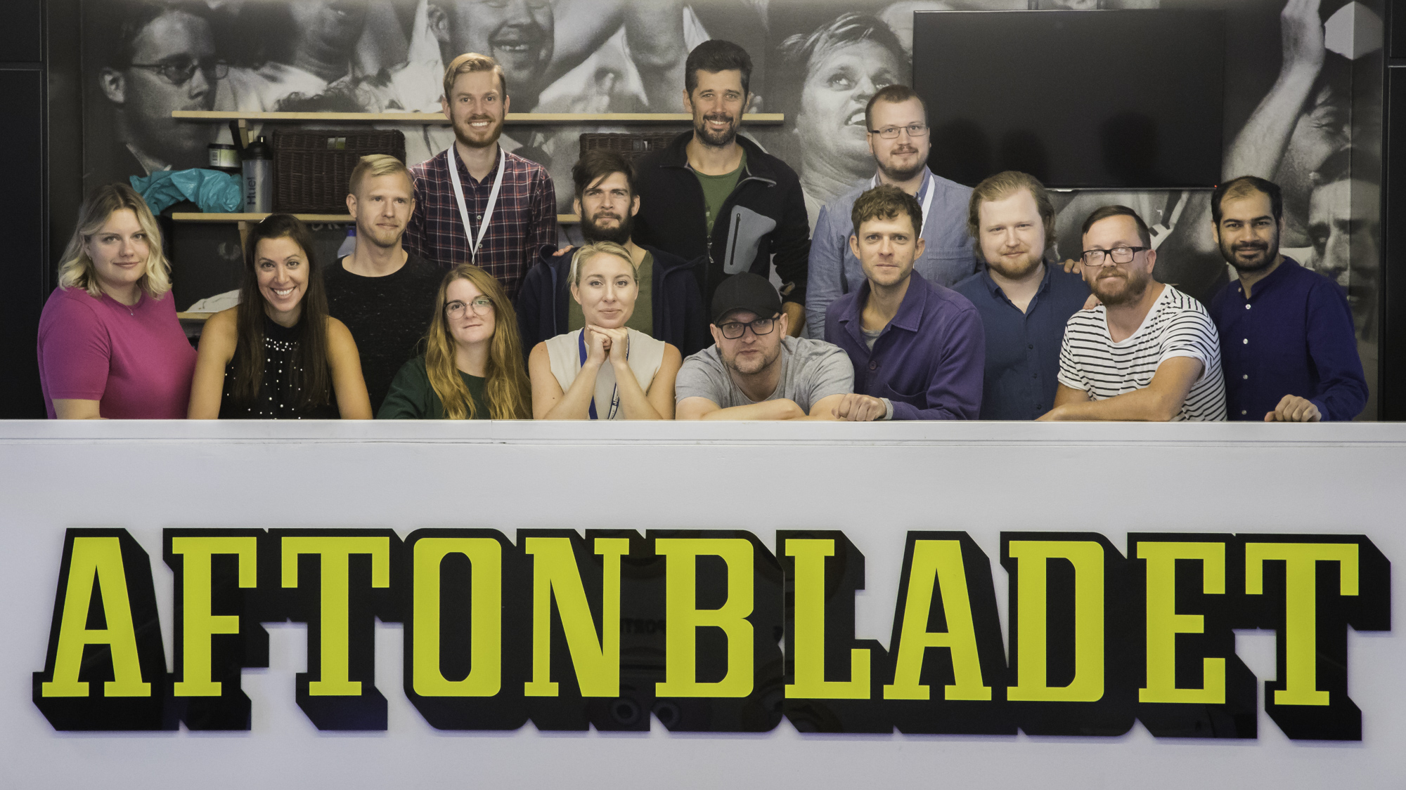 The Aftonbladet brand team in Product & Tech