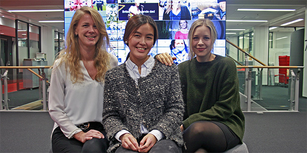 Godt will be even better: These three food enthusiasts will now collaborate on making Godt.no Norway's biggest and best food website. From left:  Pia Cecilie Lund , Natalie Ngo and Camilla Bjørn.
