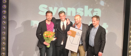 SvD: Advertising Campaign of the Year in Sweden.