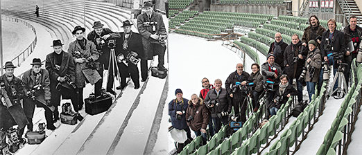 Same place – new reality. Aftenposten's photographers 50 years ago, and today.